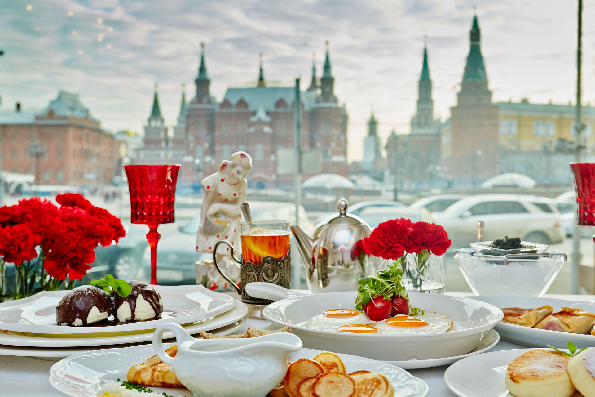 Breakfast in Dr.Zhivago